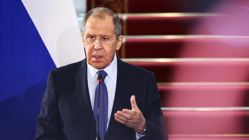 «Активно этим занимаемся»: Лавров рассказал о шагах России по отказу от контролируемых Западом платёжных систем