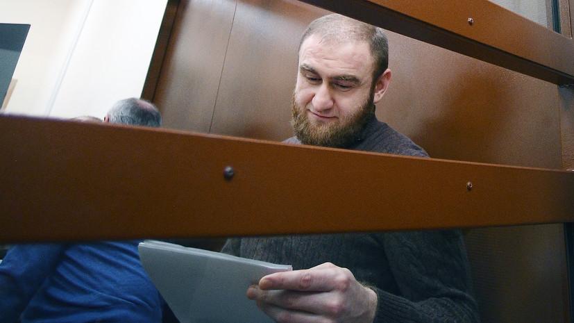 Арашуков просит расширить ассортимент тюремного ларька