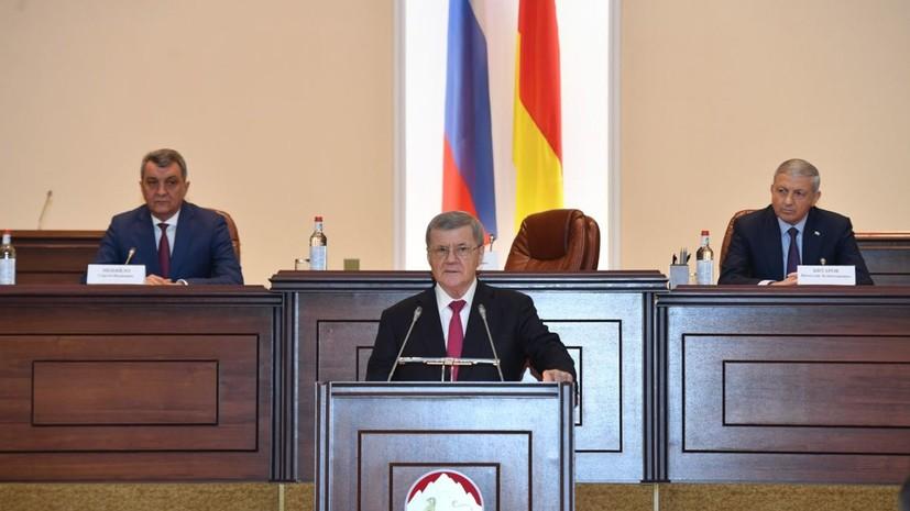 Правительство Северной Осетии отправлено в отставку