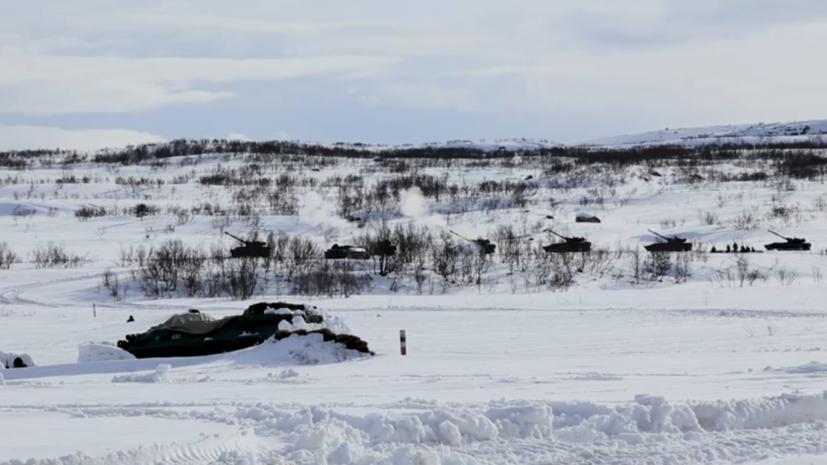 Более 500 военнослужащих приняли участие в тактическом учении в Мурманской области