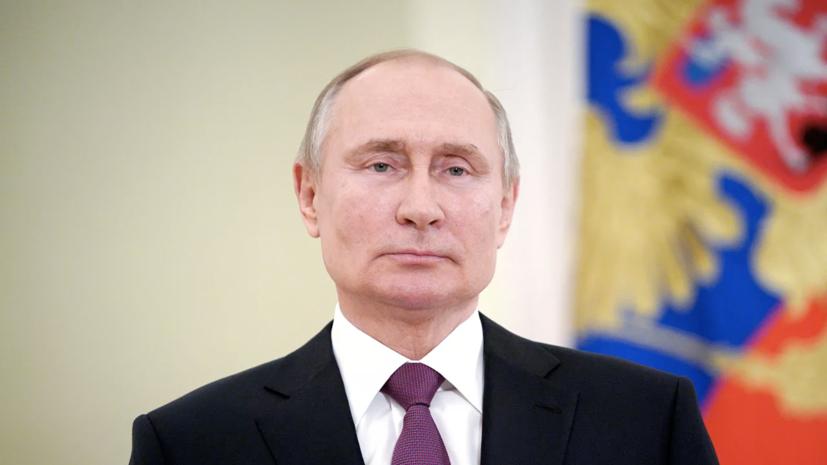 Путин прибыл в координационный центр кабмина в комплексе гостиницы «Украина»