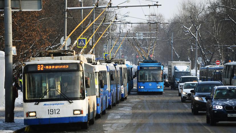 Эксперт оценил ситуацию с троллейбусами в России