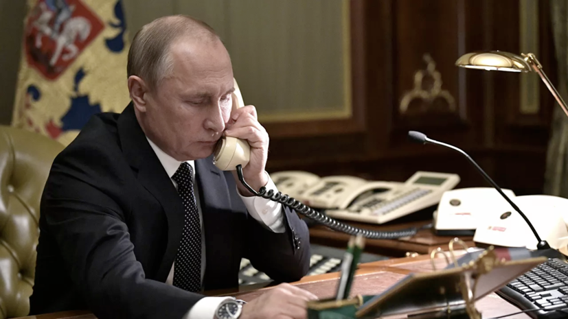 Путин провёл переговоры с президентом Финляндии