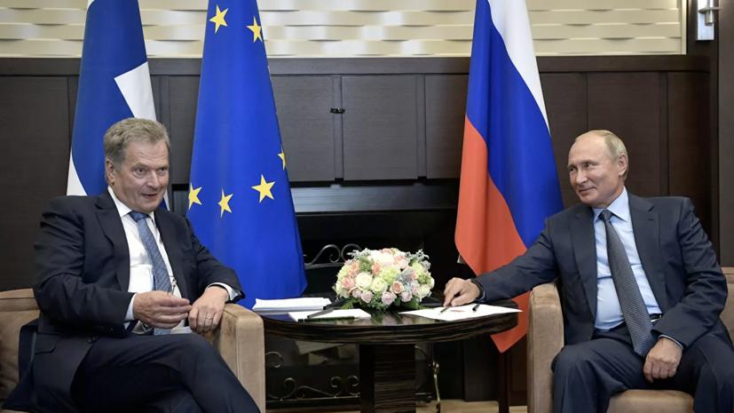 В Кремле рассказали о разговоре президентов России и Финляндии