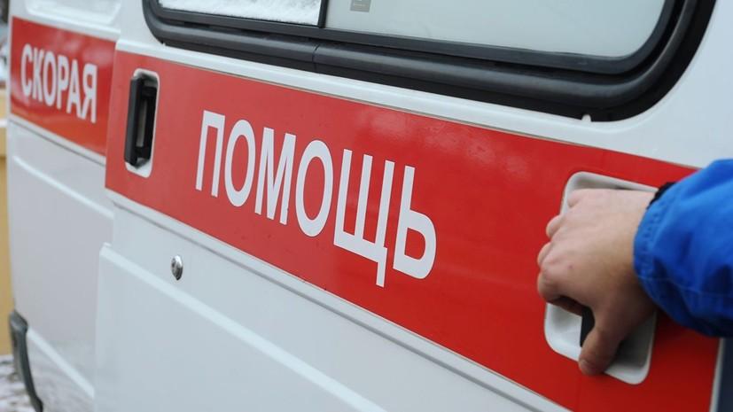 Несколько человек пострадали при наезде автобуса на мачту освещения в Москве