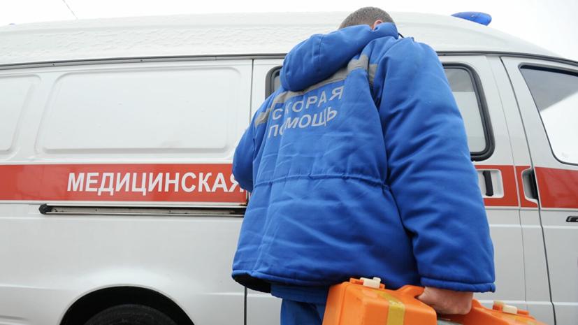 У водителя попавшего в ДТП автобуса в Москве мог быть инфаркт