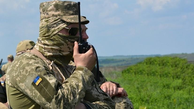 Украинские военные на границе с Крымом отработали защиту линии обороны