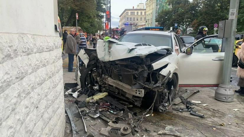 Обвиняемому в ДТП на Остоженке рэперу предъявлен иск на 1,5 млн рублей