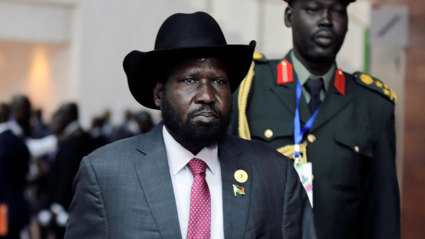 Президент Южного Судана привился от коронавируса