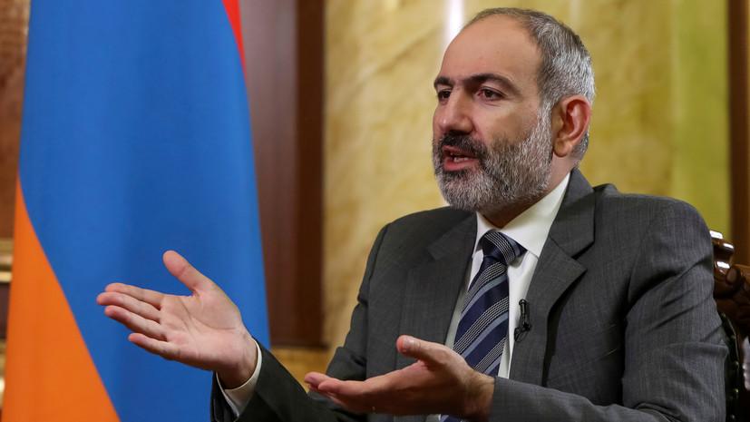Пашинян пообещал подать в отставку в последние дни апреля