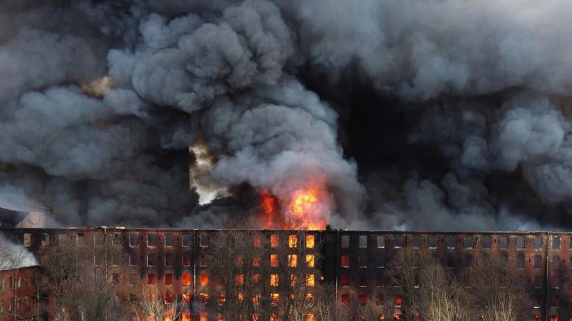 Замгендиректора Невской мануфактуры арестован по делу о пожаре