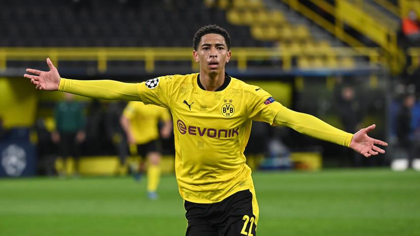 Беллингем стал вторым самым молодым автором гола в плей-офф ЛЧ