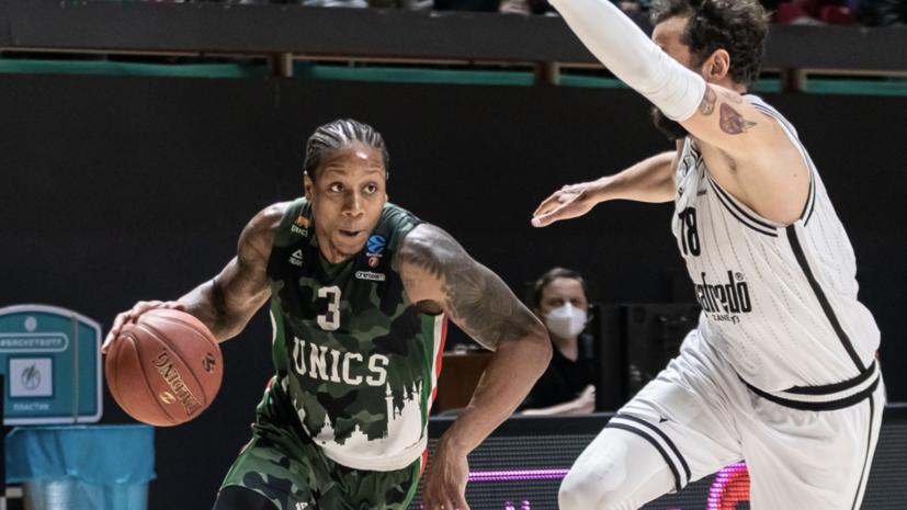 УНИКС обыграл «Виртус» и вышел в финал баскетбольного Еврокубка