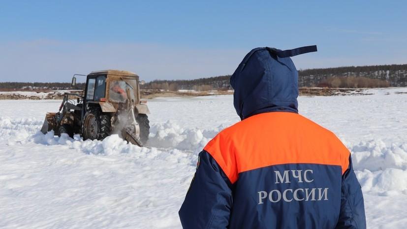 Спасатели предупредили об опасности весеннего льда