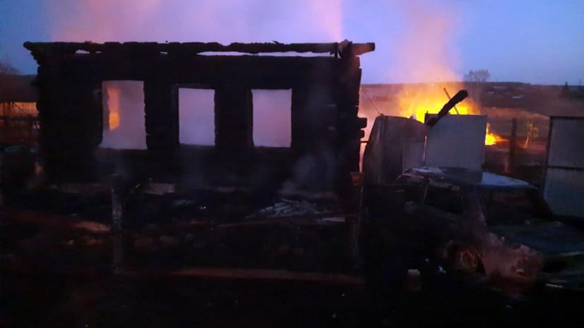 На месте пожара на Урале нашли останки пятого погибшего ребёнка