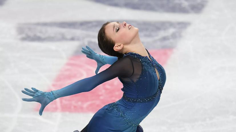 Россия оторвалась на восемь баллов от Японии в общем зачёте командного ЧМ по фигурному катанию