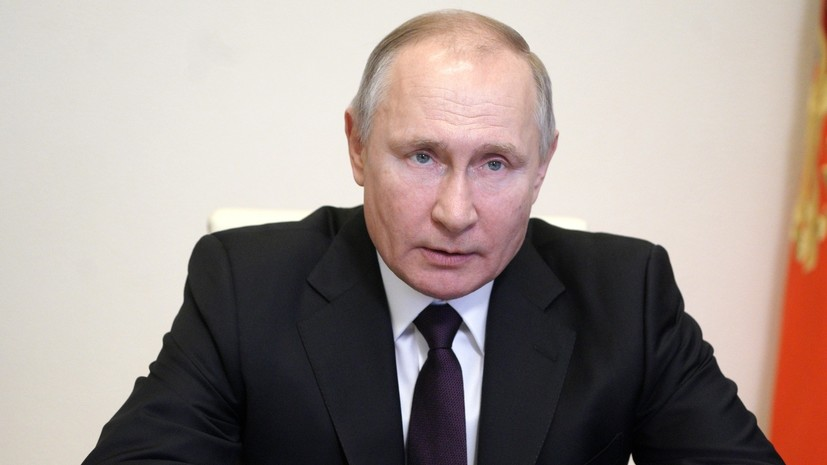Путин провёл переговоры с председателем Совета министров Ливана