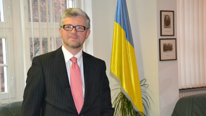 """Украинский посол призвал Германию """"вынести предупреждение"""" России"""