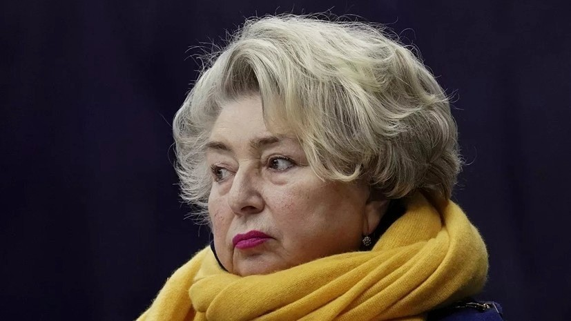 Тарасова отреагировала на первые два места Туктамышевой и Щербаковой в короткой программе на ЧМ