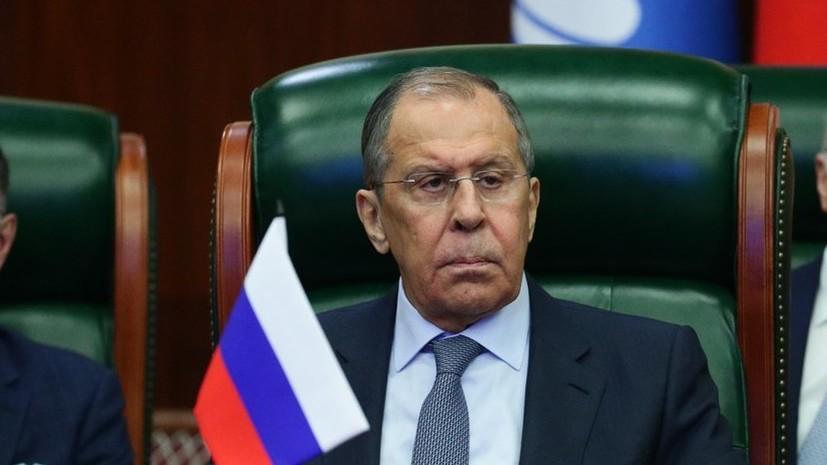 Лавров провёл телефонный разговор с главой ВОЗ