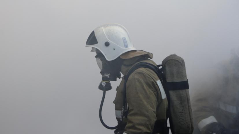В Тамбовской области ликвидировали пожар в здании вагонного депо