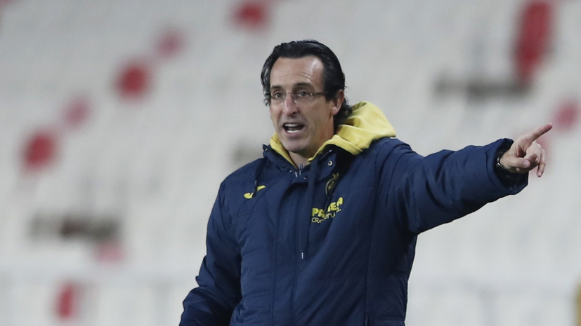 Эмери в шестой раз за карьеру вывел команду в полуфинал Лиги Европы