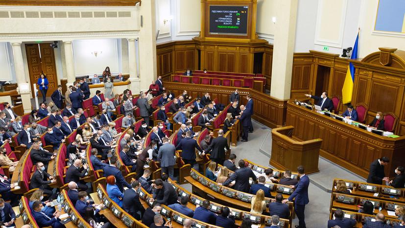 Проект мотивации: почему США выделят $10 млн «на решение проблем» украинской Верховной рады