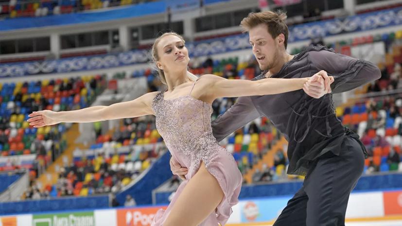 Сборная России опережает США на восемь очков после второго дня командного ЧМ по фигурному катанию