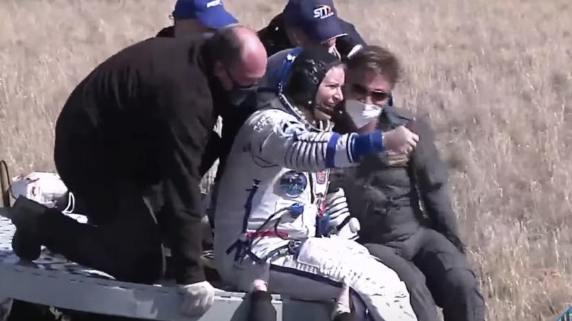 Рогозин рассказал о самочувствии вернувшихся с МКС космонавтов