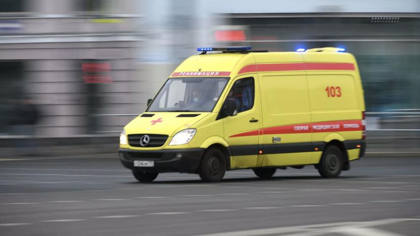 ДТП с участием девяти автомобилей произошло в Москве