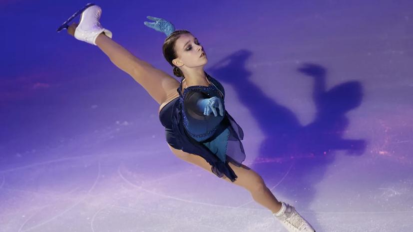 Щербакова: перед выходом на лёд узнала, что мы уже выиграли командный МЧ