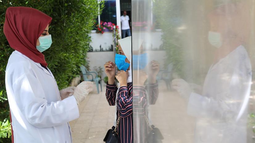 За сутки в Палестине выявили более 1600 случаев коронавируса