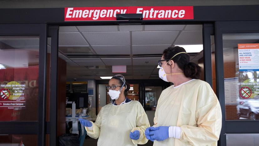 В США за сутки выявлено почти 80 тысяч случаев коронавируса