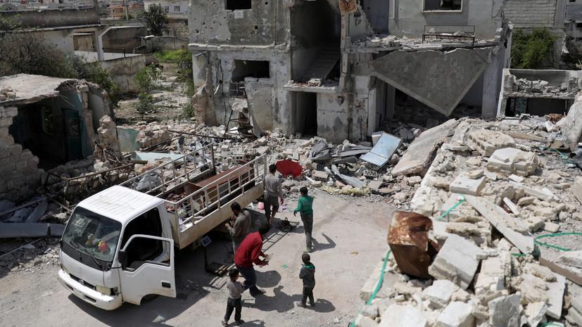 Террористы совершили 26 обстрелов в идлибской зоне деэскалации в Сирии