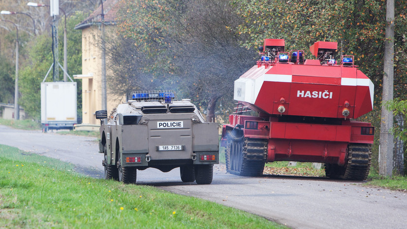 В Кремле отвергли выводы Чехии о взрыве во Врбетице