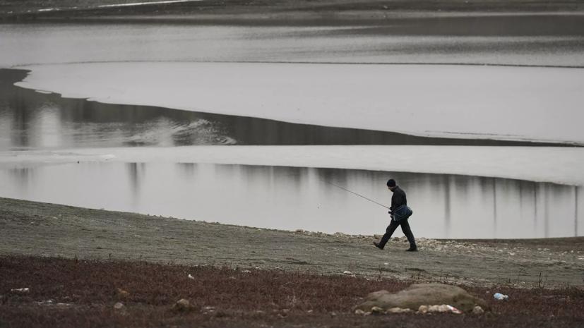 Власти Крыма сообщили, что Симферопольское водохранилище заполнено на 7%