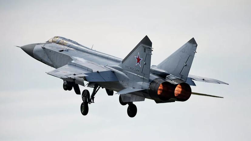 Российский МиГ-31 перехватил самолёты США и Норвегии над Баренцевым морем