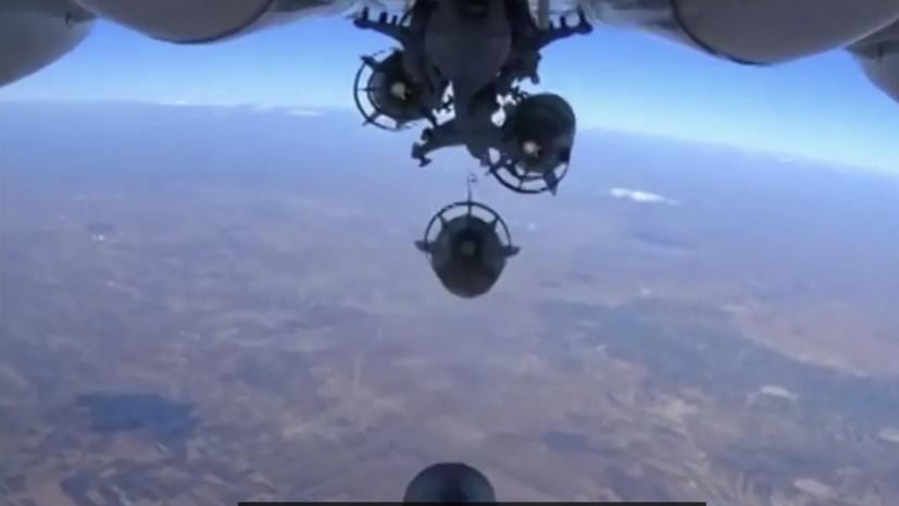 ВКС России уничтожили базу подготовки террористов под Пальмирой