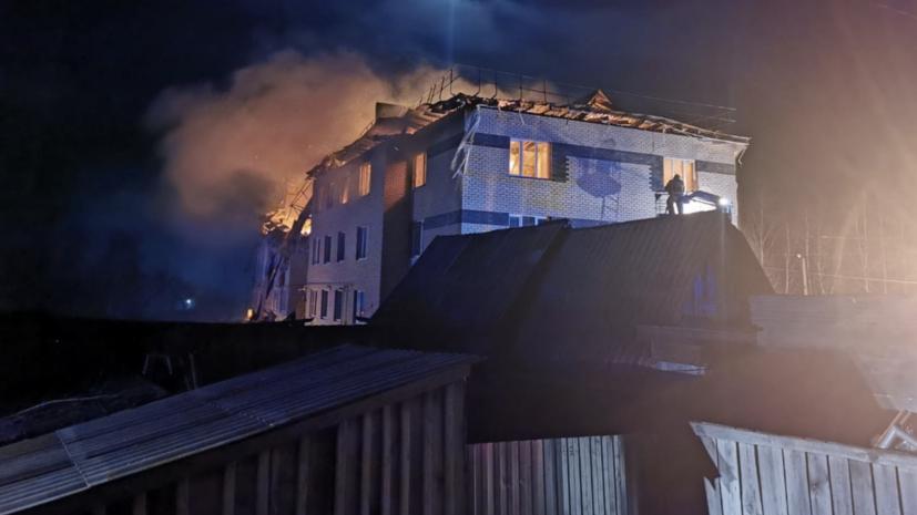 СК возбудил дело по факту обрушения дома в Нижегородской области