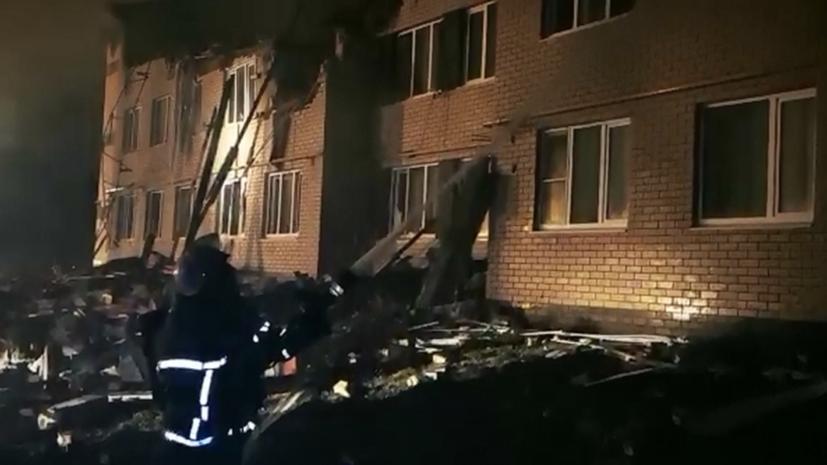 Под завалами дома в Нижегородской области найдено тело ребёнка