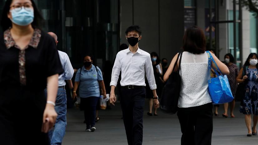 В Сингапуре разработали систему тестирования на коронавирус через дыхание