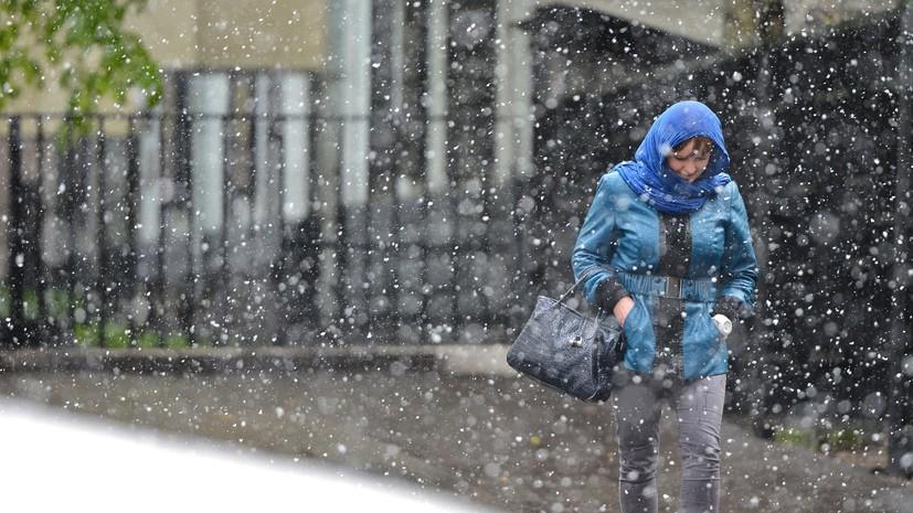 МЧС предупредило о дожде с мокрым снегом в Москве