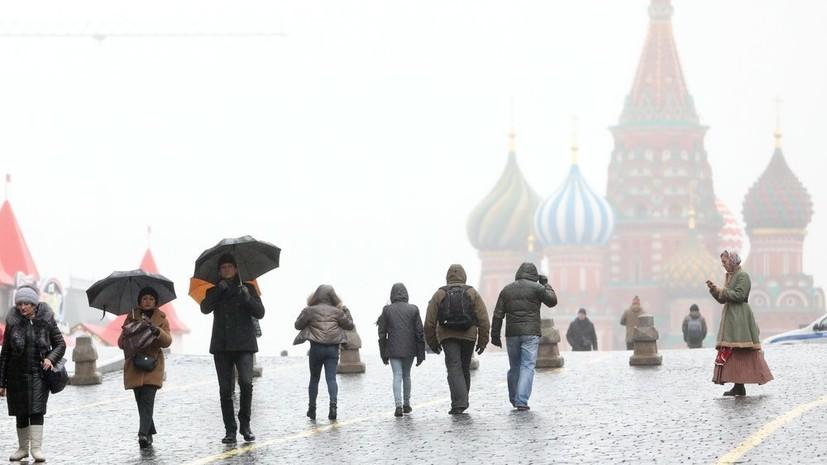 В Москве за сутки может выпасть до половины месячной нормы осадков