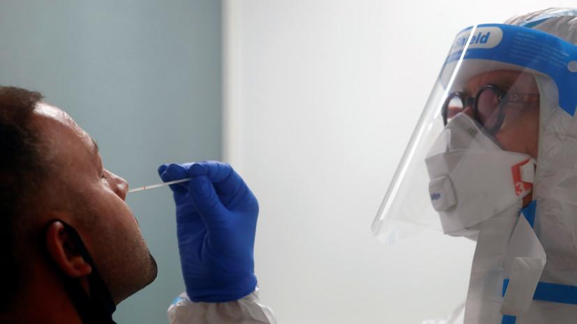 В Турции за сутки выявили более 61 тысячи случаев коронавируса