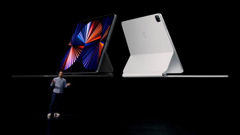 Apple представила новые планшеты iPad Pro и метки AirTags