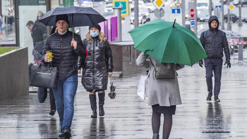 Синоптики прогнозируют прохладную погоду и дождь в Петербурге
