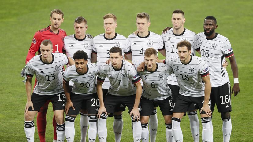 Сборная Германии по футболу сыграет с Бразилией на Олимпиаде-2020