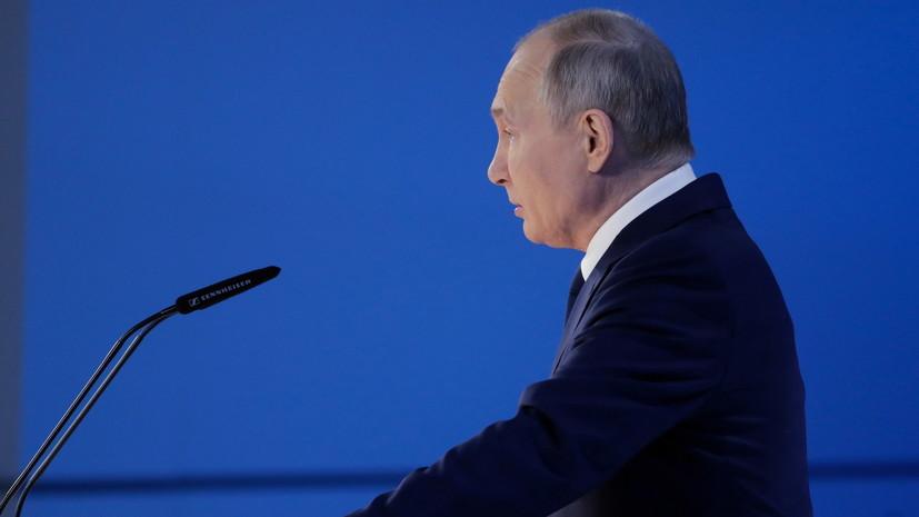 Путин рассказал о мерах поддержки регионов