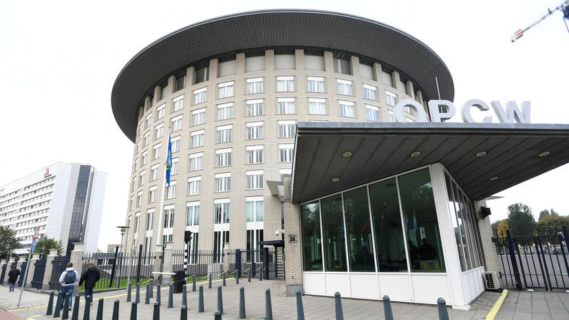 ОЗХО приняла резолюцию о приостановлении прав Сирии в организации