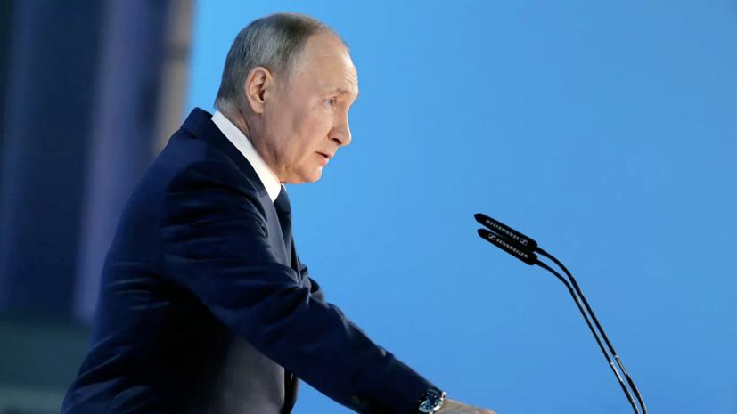 Путин поручил к июлю подготовить меры по выполнению национальных целей